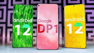Android 12 OFFICIAL New Features & Changes! DP1 Review