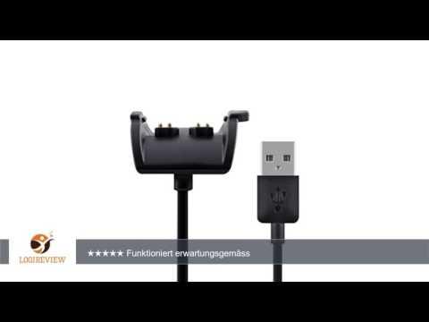kwmobile USB Ladekabel für Garmin Vivosmart HR / HR Plus / Approach X40 - Ersatzkabel für Sport