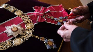 video: Insignia from Denmark and Greece to lie on altar at Prince Philip's funeral