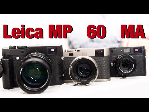 Leica M60, MP and MA