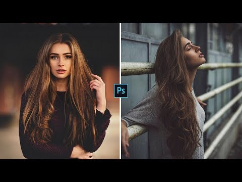 How to Edit Moody Dark | Photoshop Tutorial