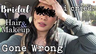 Bridal Hair and Makeup Disaster | My Wedding Storytime