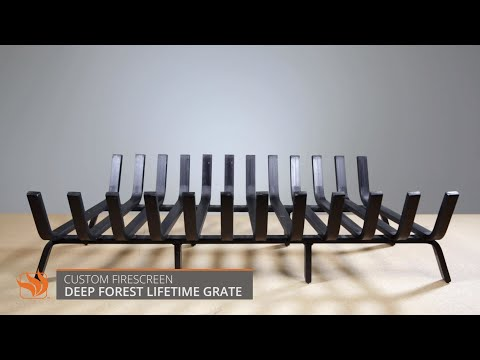 Deep Forest Lifetime Fireplace Grate - 36""