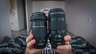 СANON EF 70-300 IS USM vs 75-300 III. Почему я сменил телефото зум объектив для Canon 5D.