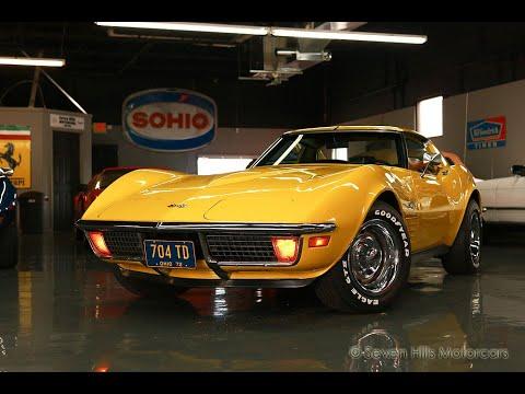 Video of '72 Corvette - PR8G
