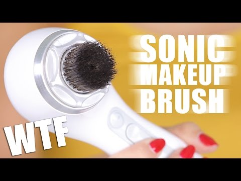 SUPER SONIC MAKEUP BRUSH … WTF | First Impressions