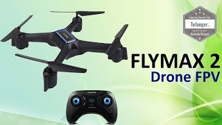 Flymax 2 WiFi Quadcopter 2 4G FPV Streaming Drone - Unboxing