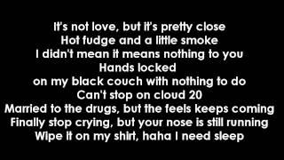"Video thumbnail of ""Jhene Aiko Ft. Childish Gambino - Bed Peace (Lyrics)"""
