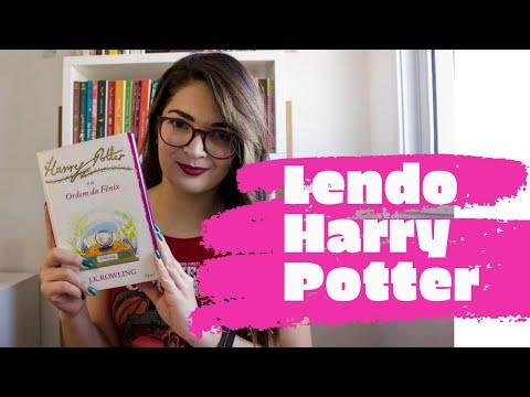 Lendo Harry Potter : Harry Potter e a Ordem da Fênix - J.K. Rowling | Vanusa Marte