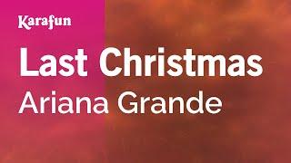 Karaoke Last Christmas - Ariana Grande *