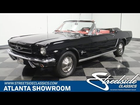 Video of '64 Ford Mustang Offered by Streetside Classics - Atlanta - QA2K