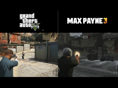 Grand Theft Auto V's And Max Payne 3's Combat Compared, Side By Side