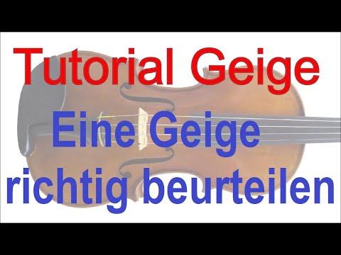 Tipps und Hinweise zum Kauf einer Geige/Violine