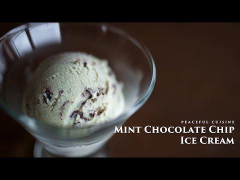 Video Mint Chocolate Chip Ice Cream (vegan) ☆ ミントチョコレートチップアイスクリームの作り方