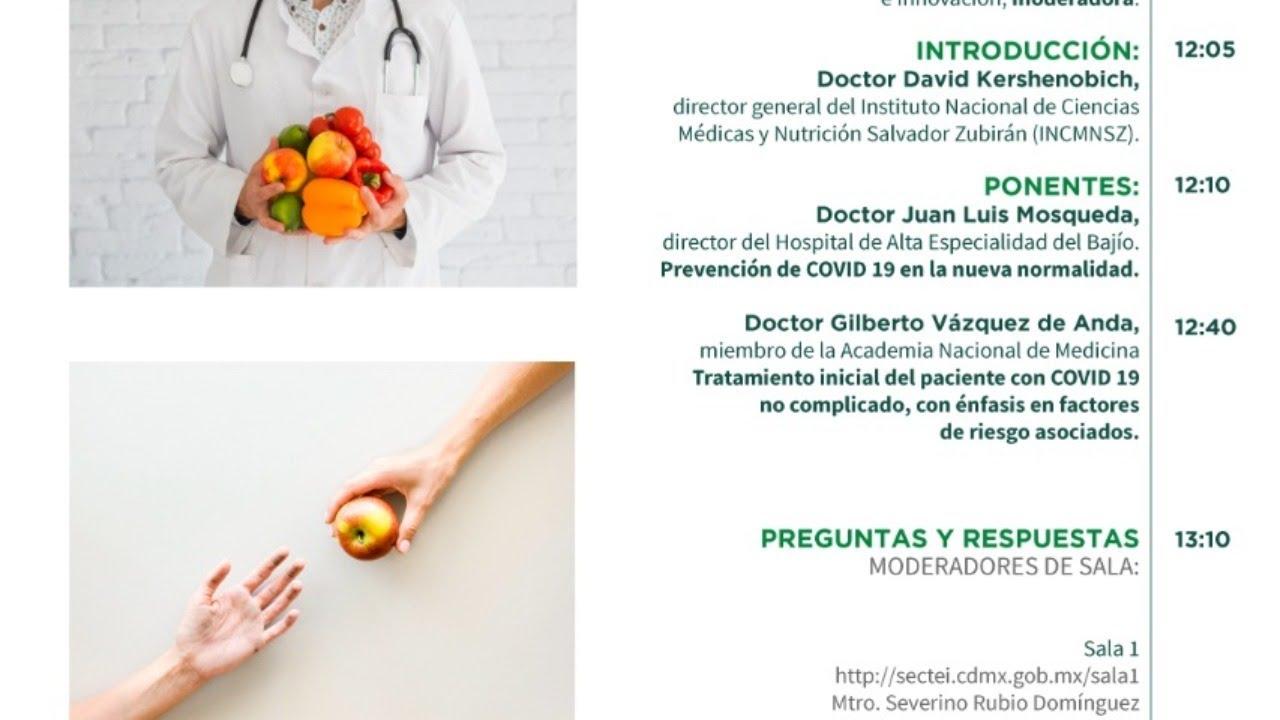 Segundo Webinar: Diabetes, Obesidad e Hipertensión