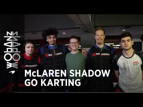 Go karting with Alie Tacq and Blackpanthaa