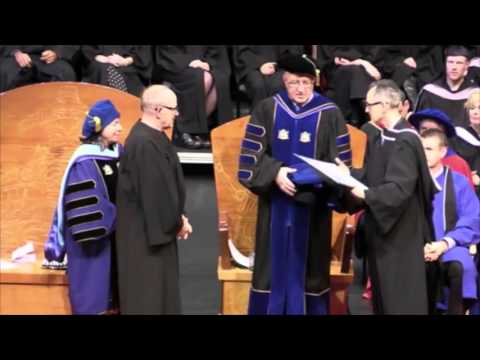 Patrick Lane Honorary Doctor of Letters - VIU - Jan. 2016