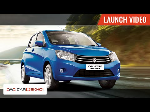 Maruti Suzuki Celerio Diesel Launch in India | CarDekho.com