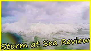Storm at Sea Review. Yalong Bay Beach, Sanya, Hainan, China. Travel to China
