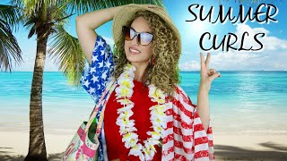 The BEST Summer Curly Hair Tips | THE GLAM BELLE