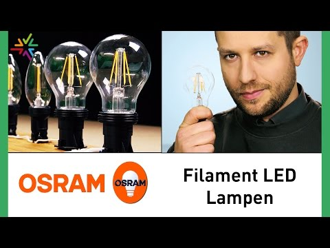 OSRAM Filament Lampen - Das perfekte Retrofit für Glühbirnen [watt24-Video Nr.166]