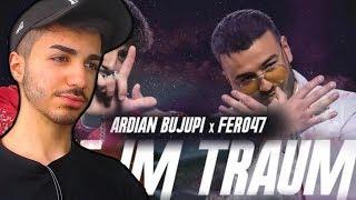 OMG DIESER BEAT ! Ardian Bujupi X Fero47   WIE IM TRAUM   TRAILER   Reaction