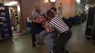 CM Punk Assaults Jerry The King Lawler Moments Before Raw