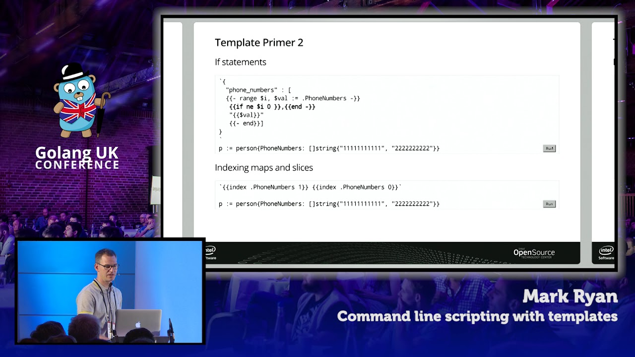 Command Line Scripting with Templates