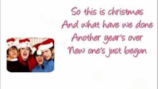 McFly- Happy Xmas (War is over) with lyrics HQ