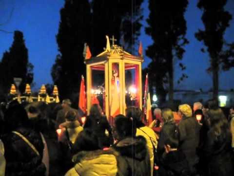 Gedenkfeier zu Ehren des Heiligen Efisio am 15. Januar, seinem Todestag