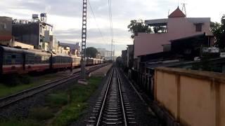 Train Driver record SE8 Saigon - Di An (2016)
