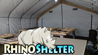 Portable Garage Shelter | Car Canopy & RV Carport | Heavy Duty Rhino Shelter Review/Setup