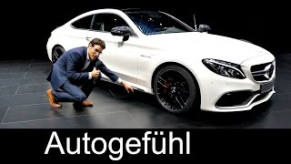 New Mercedes C-Class Coupé & AMG C63S first preview at IAA motor show - Autogefühl