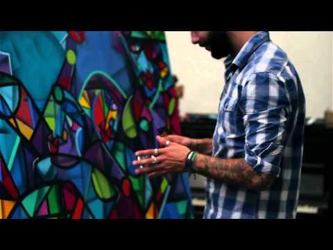 Sennelier abstract innovative acrylic