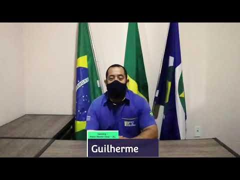 Guilherme, gerente do Posto Monte Sinai fala sobre a prevenção do COVID-19.