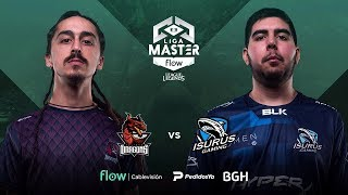 Coliseo Dragons VS Isurus Gaming | Jornada 14 | Liga Master Flow