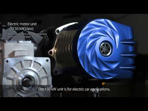 Yamaha Motor High-performance Electric Motor Prototype(interview with developer)