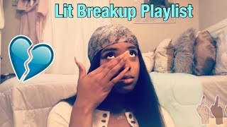 2019 LIT BREAKUP PLAYLIST💔 | Allie Cakes