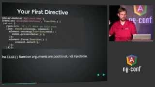 Dave Smith  - Deep Dive into Custom Directives - NG-Conf 2014