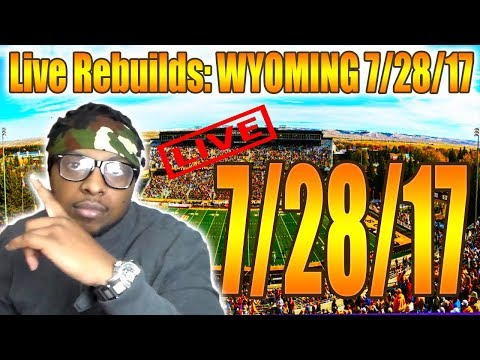 WHOA!!! IM LIVE BRA - WYOMING REBUILD - NCAA FOOTBALL 14