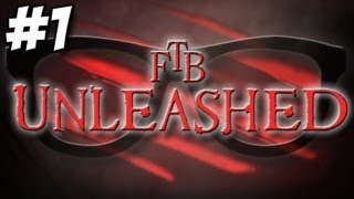 FTB Unleashed - Part 1 - The Tree! + World Download