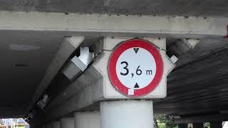 Weer een ongeluk bij Waalwijks viaduct