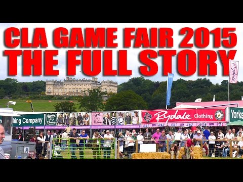 CLA Game Fair 2015 – the full story