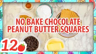 Stop Motion Cooking No Bake Chocolate Peanut Butter Squares Recipe