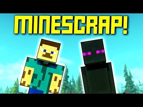 When Minecraft Meets Scrap Mechanic, Aww Man... - Scrap Mechanic Workshop Hunters