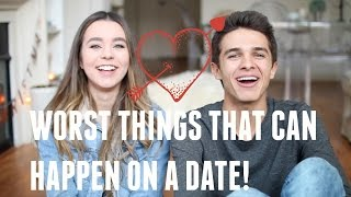 Worst Things That Can Happen on a Date! (w/ Sierra Furtado) | Brent Rivera