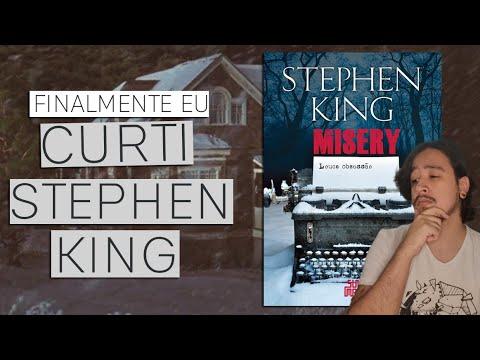 MISERY: o primeiro STEPHEN KING que gostei | Mil Páginas