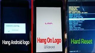 Lava iris-50 Hang on logo Stuck on Flashing Done - GSM SR