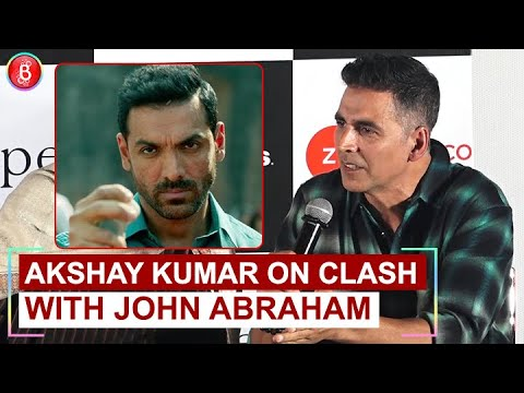 Akshay Kumar On Mission Mangal's Clash With John Abraham's Batla House