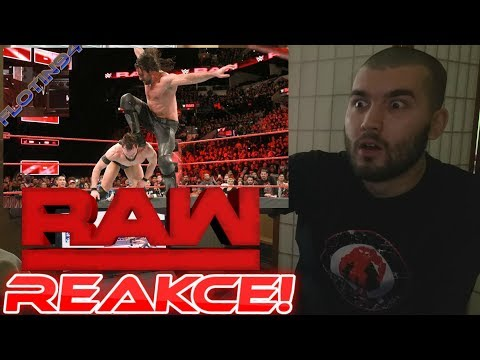 Seth Rollins vs Finn Balor - ( CURB STOMP IS BACK ) RAW 1/15/18 REACTION/REAKCE
